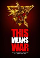 THIS MEANS WAR by catandcrown