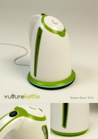 Vulture Kettle by veverkaUUD
