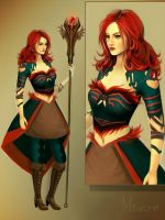 guild wars 2 ele by Meiverin
