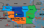 Administrative Divisions of Misthalin by FlagArmadaProductns