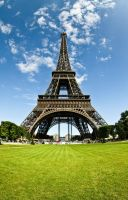 Eiffel tower. by andthecowsgobaa