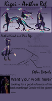 Kigai Anthro Ref [CLOSED SPECIES-STAR DOG] BIG by Sairendipity