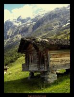 Home in Alps by czech-club