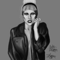 Lady Gaga - Born This Way WIP by bratchny