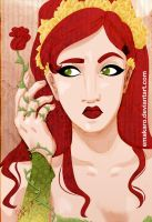 Poison Ivy Fan Art by Emakaro