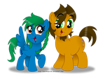 Me and my little Internet Sister by AleximusPrime