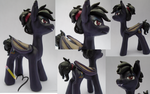 Batpony Sculpture by chipperpony