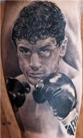 Raging Bull by Remistattoo