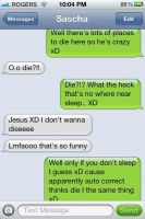 Autocorrect has it out for me o.O by ImHerMonster