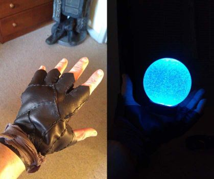 Magic light ball for Saarebas cosplay by tatjna