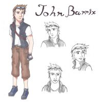 John Barrix- Re-design by 2sisters34