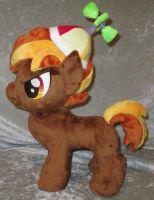 Button Mash plushie with Spinny Hat by Drachefrau