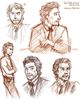 +nysm+ Dylan Rhodes sketches by Mistrel-Fox
