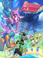 Freedom Planet Artwork by Gashi-gashi