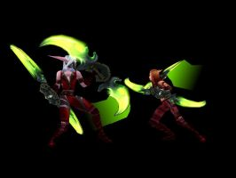 Rogue Duel by xHardwirex