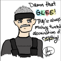 Commander Up Hates the G.L.E.E by sourpatchkid28
