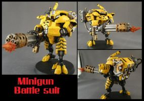 Mini-gun Battlesuit by Dark6LTM