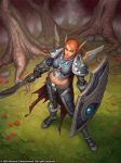 Blood Elf Paladin by Arsenal21