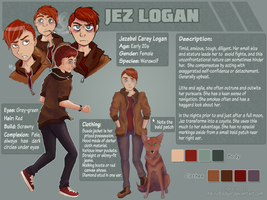 OC: Jez Logan [Updated] by AlbinoBadger