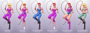 Evolution of Linda, part 1 by Jiggeh