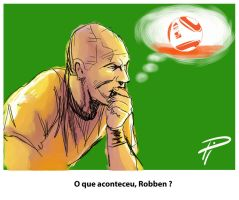 What Robben was thinking... by acir