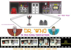 Dr. Who - 1960's Movie Tardis by mikedaws