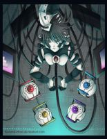 -- Gijinka Project: GLaDOS -- by Kurama-chan