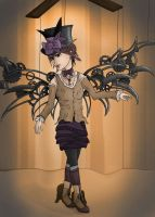 Steampunk Marionette by Afireonthesnow