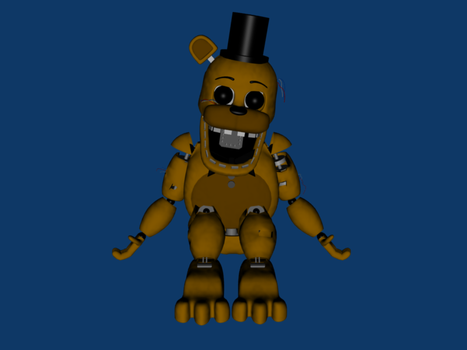 Withered Golden Freddy by supermariojustin4