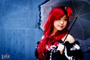 Gothic Lolita 2 by LarkVisuals