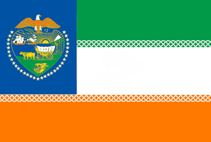 Oregon State Flag Proposal No.4 By: S.R. Barlow by DesertStormVet