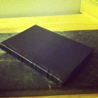 My Second Leather Hand Bound Book by MerrillsLeather