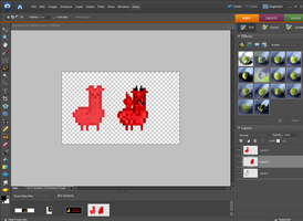 Making a Llama Sprite Guide by Adorkable-Naru