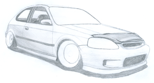 Honda Civic WIP by Danchix