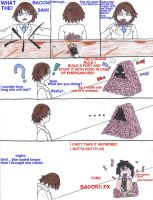 DRRR Chibi Comic: Sam and the Bacon Fort by Aelita3575