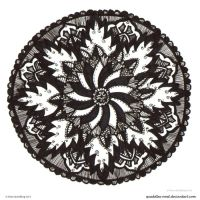 Obsidian Allay Mandala by Quaddles-Roost