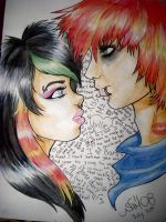 Scene kids, ha by Elexeo