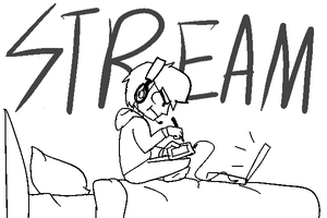 Stream Time! by ShakerSilver