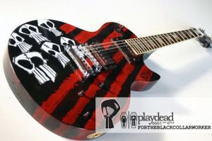 Playdead Flag Guitar by PlaydeadCult