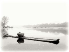 A Boat in Guilin by jennyhinata
