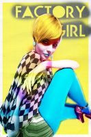 Factory Girl Poster by Euskera