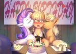 Commission: A sweet Birthday Surprise by bakki