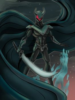 Black Knight by Paperpanic