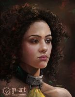 Missandei by gv-art