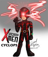 Marvel Now: Uncanny X-men 2013 Cyclops by poizonazn