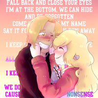 I keep on crushing all my love like this by asheds