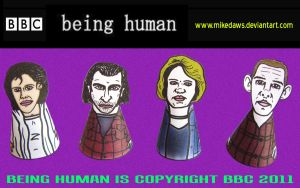 Being Human 2 by mikedaws