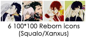 Squalo/Xanxus Reborn icons by rinfaustus