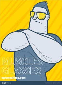 Muscles Galsses by jriveraviles