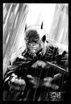 Batman in the Rain Redux by jimlee00
